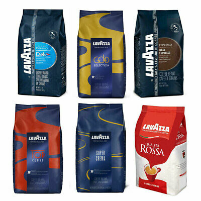 6/12 x LavAzza Coffee Beans+ FREE 200 Lotus Biscuits every case!