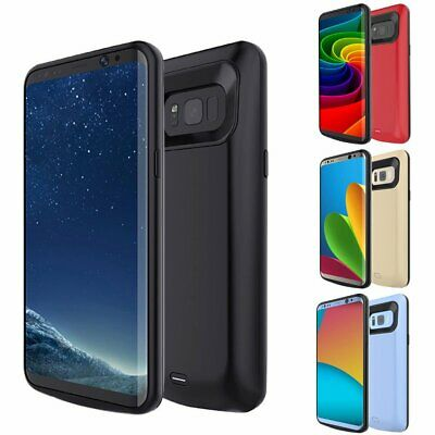 8000MAH For Samsung Galaxy S7/S7 Edge Power Bank Battery Charger Case Cover USA