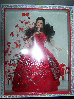 2012 Holiday Barbie KMart Exclusive Brunette Collector Doll IN HAND!