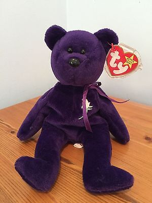 """Rare 1st Edition """"Princess"""" TY Bear - Immaculate Condition"""