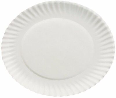 1000 White Paper Plates Lightweight Design 6 inches Diameter - Free Shipping