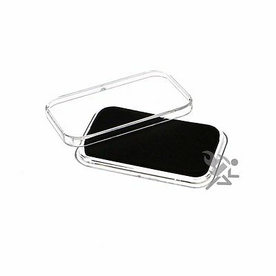Air-Tite Black Wafer Capsule Holders for 1oz or smaller GOLD BARS Qty: 10