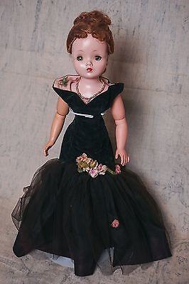 "SALE 1956 Madame Alexander redhead Cissy Doll ""Black Mermaid"" Outfit"