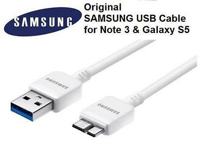 Original OEM Samsung Galaxy Note 3,S5 USB 3.0 Data Sync Cable Charger White