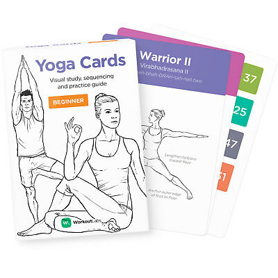 YOGA CARDS for Women - WorkoutLabs (Official listing)