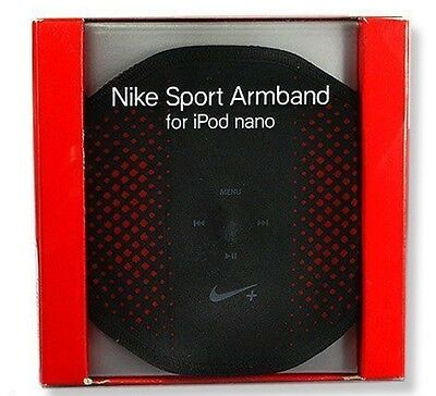 NIKE Sport Armband for IPOD Nano NEW IN BOX Red Black