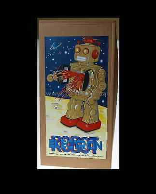 NEW ELECTRON ROBOT D CELL CLASSIC 50's /60' COLOUR CHOICE TIN TOY