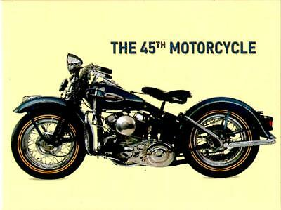 HD the 45th Motorcycle Fridge Magnet Fridge Refrigerator Magnet 6 x 8 cm