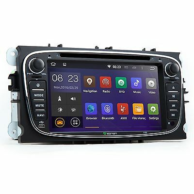 "7"" G Android WIFI Radio 3G Car DVD GPS Player Stereo For Ford Focus Mondeo S Max"
