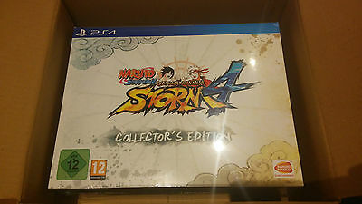 Naruto Shippuden: Ultimate Ninja Storm 4 Collector's Edition PS4 SEALED
