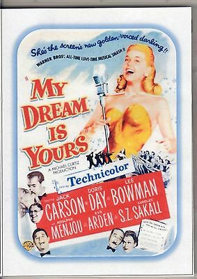 My Dream Is Yours -- Doris Day Colour Movie  All Region Dvd *