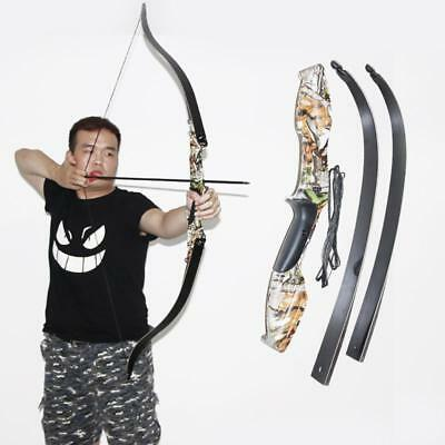NEW IRQ Archery Takedown Recurve Bow Alloy Riser Hunting Target Longbow Shooting