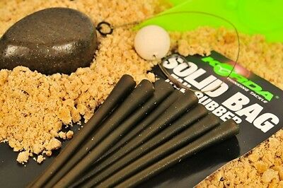 Korda Solid PVA Bag Tail Rubbers NEW Carp Fishing