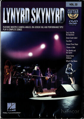 Lynyrd Skynyrd Guitar Play-Along Volume 33 Learn How to Play Tuition DVD SEALED