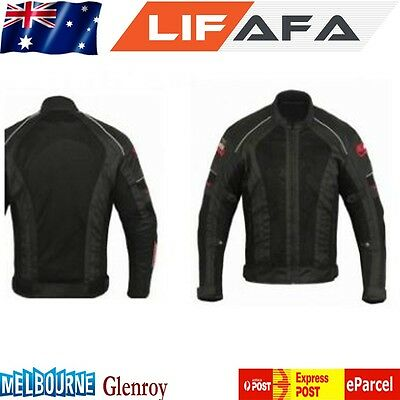 Motorcycle jacket Super air flow Mesh Bikers New Style Jackets for Summer BLACK