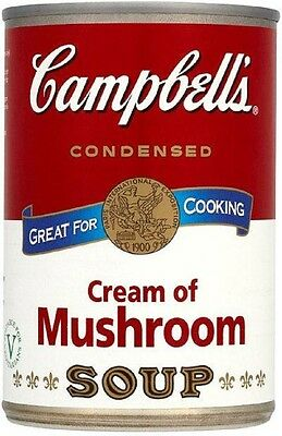 Campbell's Condensed Cream of Mushroom Soup (20x295g)
