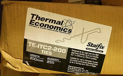 250 x Wall Ties thermal insulation Staifix TE-ITC2-200