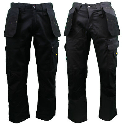 "Dewalt DWC17 - Mens Low Rise Multi-Pocket Work Trousers - 29""/31""/33"" Leg"