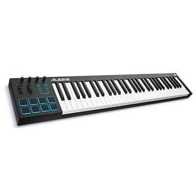 Alesis V61 | USB/MIDI Keyboard Controller | 61 Tasten + Drum Pads + Pitch Bend