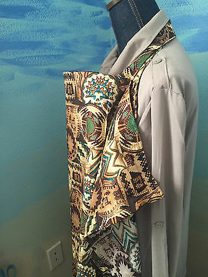 NEW  >NURSING COVER like HOOTER hider* BREASTFEEDING IKAT WESTERN NEWEST ONE