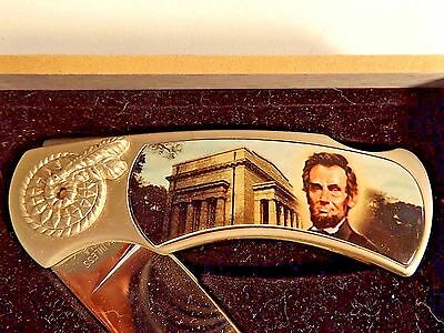 Abraham Lincoln collectible Pocket knife - in box