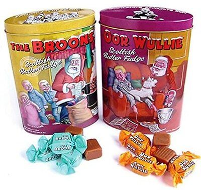 The Broons Scottish Butter Fudge Limited Edition Christmas Tin - By Gardiners
