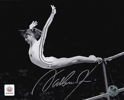 Nadia Comaneci-Olympics 1976-Official Team Gb Signed Photograph-Aftal/uacc Rd