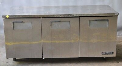 Used True TUC-72 3 Door Undercounter Cooler, Excellent, Free Shipping!!!