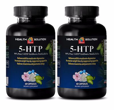 99% Pure 5-Htp - 5-HTP 100mg - Reduces Carbohydrate Cravings 2B
