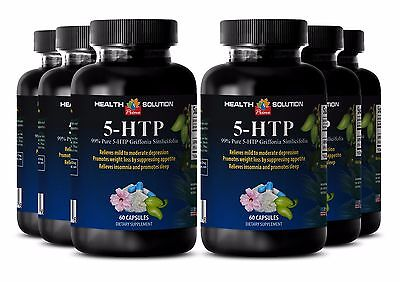 99% Pure Griffonia Simplicifolia Capsules - 5-HTP 100mg - Help With Anxiety 6B