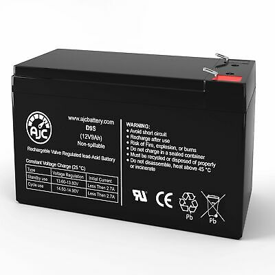 This is an AJC Brand Replacement Tempest TR4-6A 6V 4.5Ah Sealed Lead Acid Battery