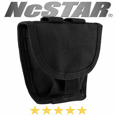 NcSTAR MOLLE PALS Secures Handcuff Pouch Modular Pouch Case Holster Black