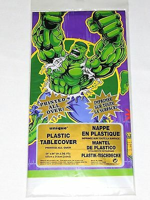 New The  Incredible Hulk  1-Plastic Table Cover -Party Supplies