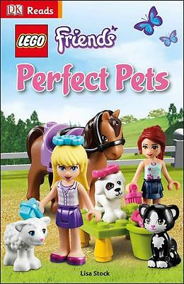 NEW LEGO Friends : Perfect Pets By Dorling Kindersley Hardcover Free Shipping