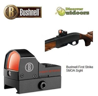 New Bushnell First Strike 5MOA Reflex Red Dot Scope - Hunting Tactical