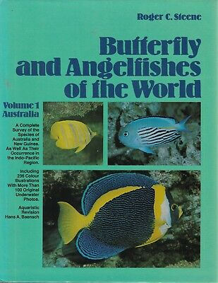 BUTTERFLY & ANGELFISHES of the World Roger C Steene **GOOD COPY**