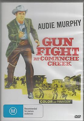 Gunfight At Comanche Creek  Audie Murphy New All Region Dvd