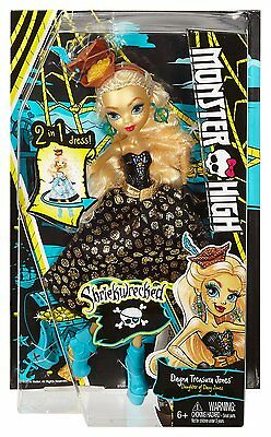 Monster High Shriekwrecked Dayna Treasura Jones Doll - NEW & SEALED!
