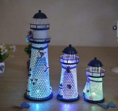 New Color Light Up Marine Lighthouse Gift Beautiful Gift Home Party Decoration