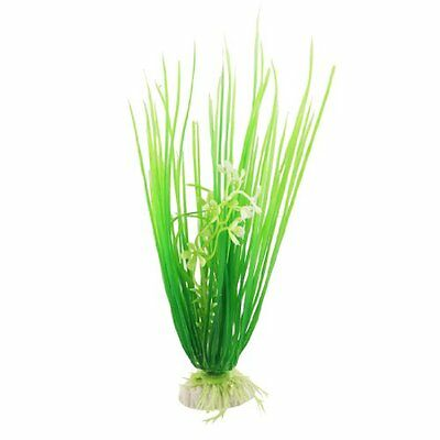 sourcingmap Plastic Fish Tank Grass  Plant Decoration, 8.7-inch, Green