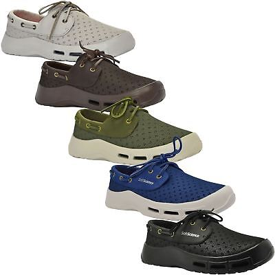 Soft Science Comfort Footwear~The Fin~5 Colours~Mens Boat Shoe~RRP £60~All Sizes