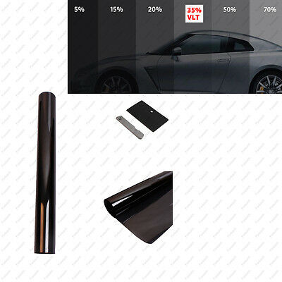 35% VLT  2 PLY Window Tint Film For Car Auto Home 500mm X 6m Roll