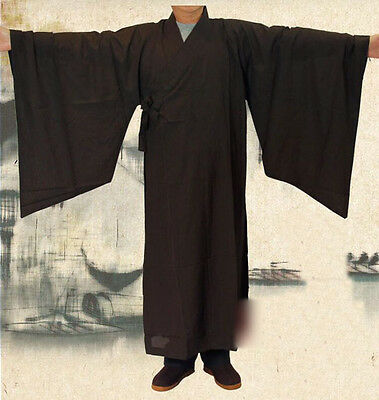 7426 New Top Quality Buddhist Robe Monk Shaolin Meditation Uniform Kung Fu Suits