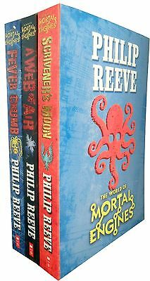 Mortal Engines Collection Philip Reeve 3 Books Set