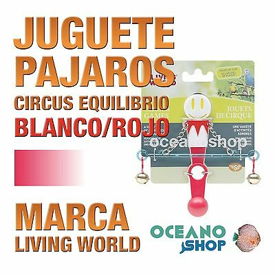 Living World Circus Equilibrio Blanco/rojo