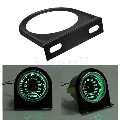 "Universal 52mm 2"" Métal Support Jauge Gauge Holder Fixation Montage Manometre BA"