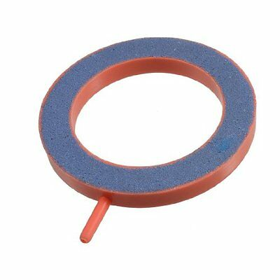 sourcingmap Round Fish Tank Bubbles Air Stone, 5 mm, Maroon  Blue