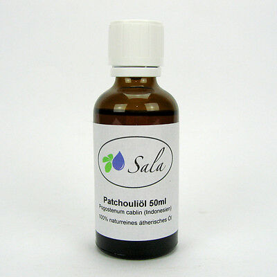 (23,98/100ml) Sala Patchouliöl 100% naturreines ätherisches Patchouli Öl 50 ml