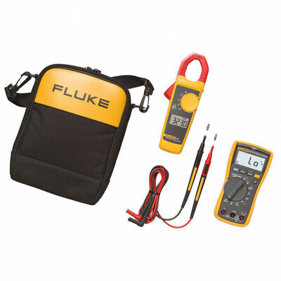 Fluke 117/323 Electrician's Multimeter and Clamp Meter Combo Kit