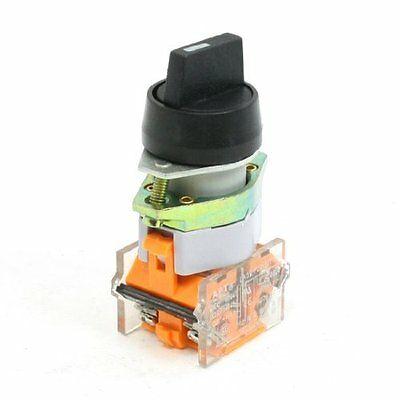 22mm Mounting Hole 2NO DPCO 3 Position Latching Rotary Selector Switch